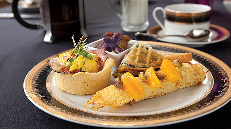 Mansions on Fifth Dining Room's Sunday Brunch