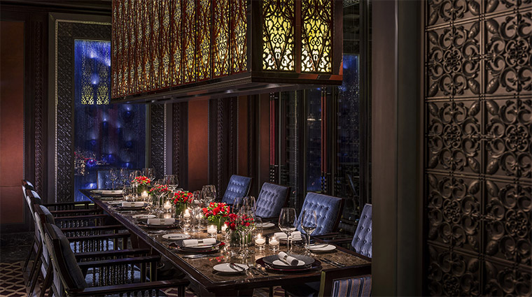 Mio Private Dining Room at Four Seasons Hotel Beijing