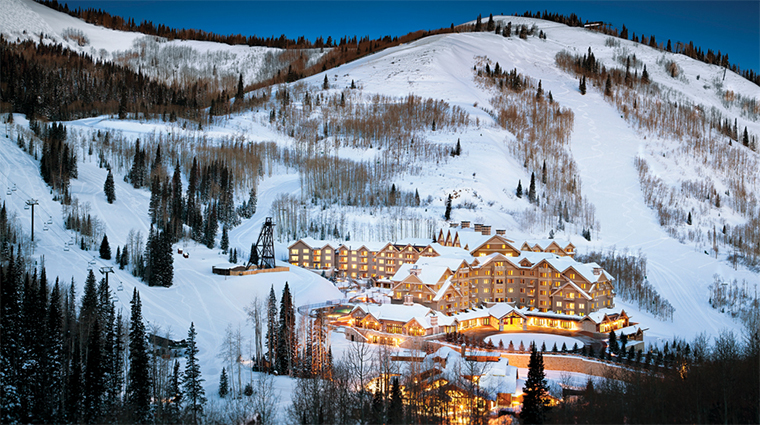 Montage Deer Valley Resort, Park City Utah, in Winter