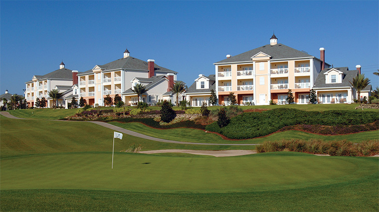 Palmer, Watson and Nicklaus Golf, Reunion Resort, View of Villas from Golf Course