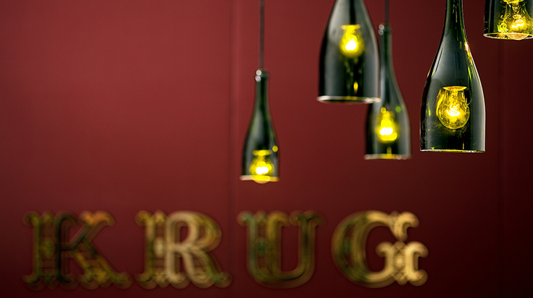 KRUG Chef's Table Custom Chandelier