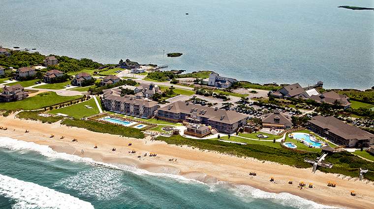 Sanderling Resort Aerial View, Duck, North Carolina