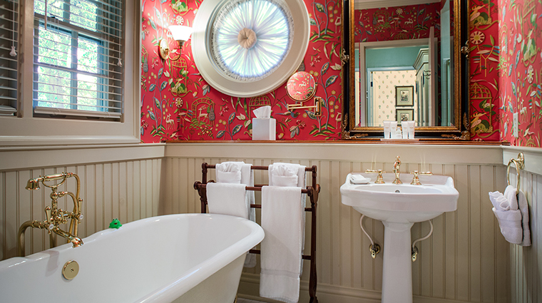 Period Inspired Suite Bathroom