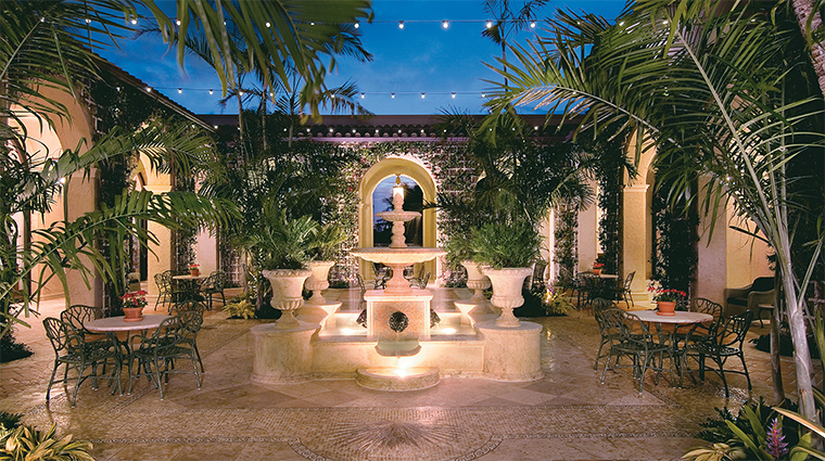 The Breakers Palm Beach The Palm Courtyard