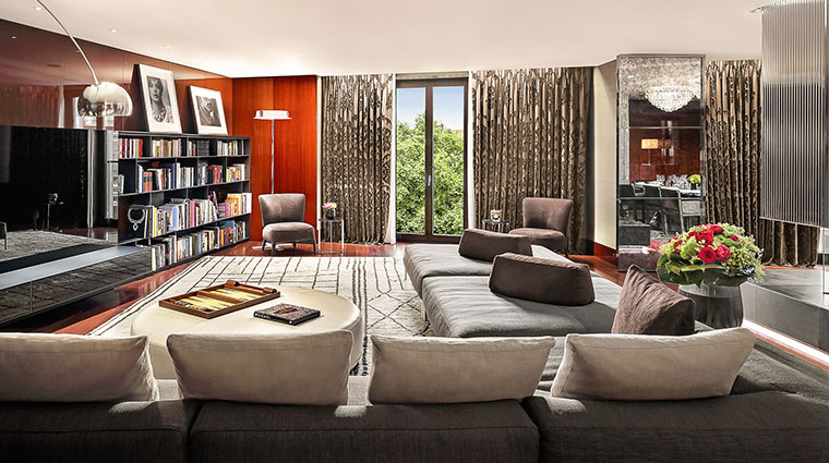 Bulgari Suite I Living Room