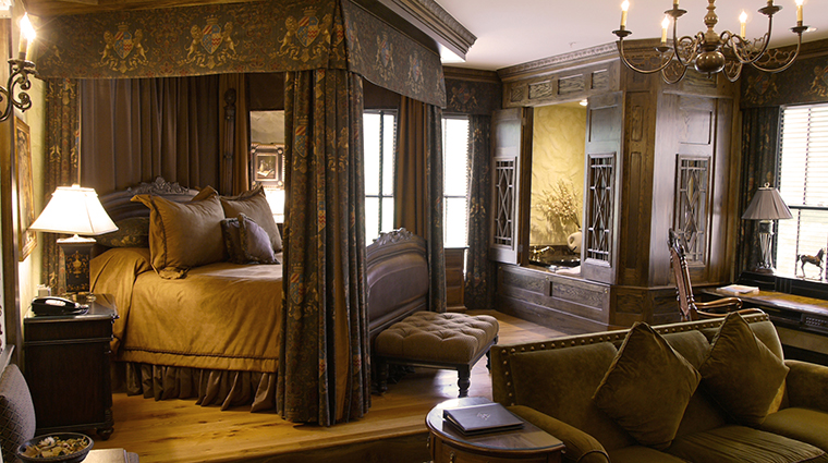 The Chanler English Tudor Guest Room