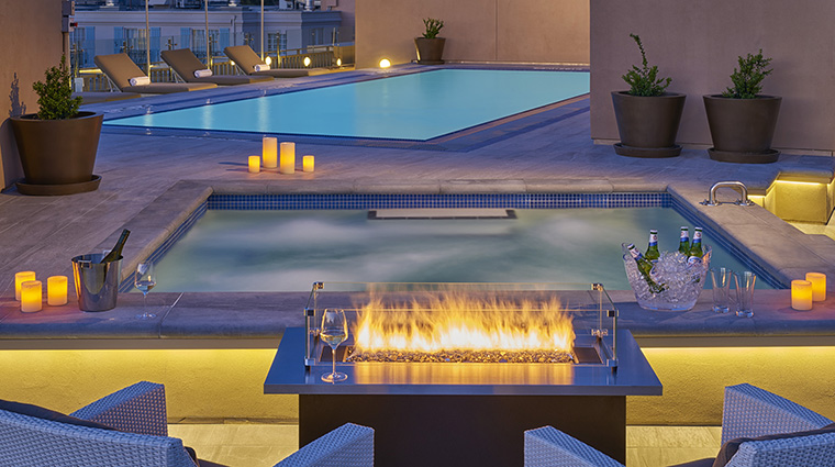 Rooftop Pool & Firepit
