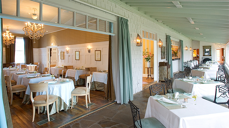 The Dining Room at Clifton Inn, Dining Room and Verandah