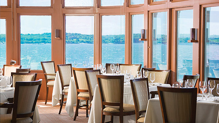 The Dining Room at Castle Hill Inn, Newport, Rhode Island