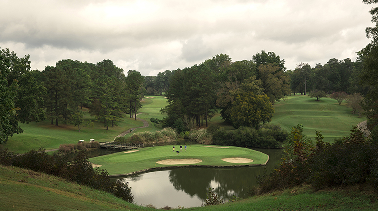 The Golden Horseshoe Golf Club Golf Course, Williamsburg, Virginia