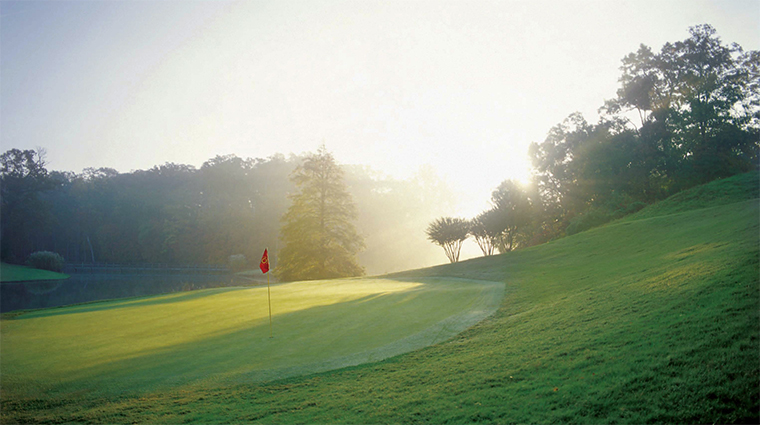 The Golden Horseshoe Golf Club Sunrise, Williamsburg, Virginia