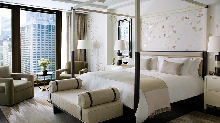The Langham, Chicago Infinity Suite Master Bedroom
