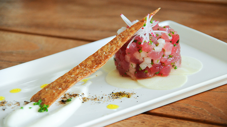 The Modern Honolulu The Passageway Ahi Tuna Tartare