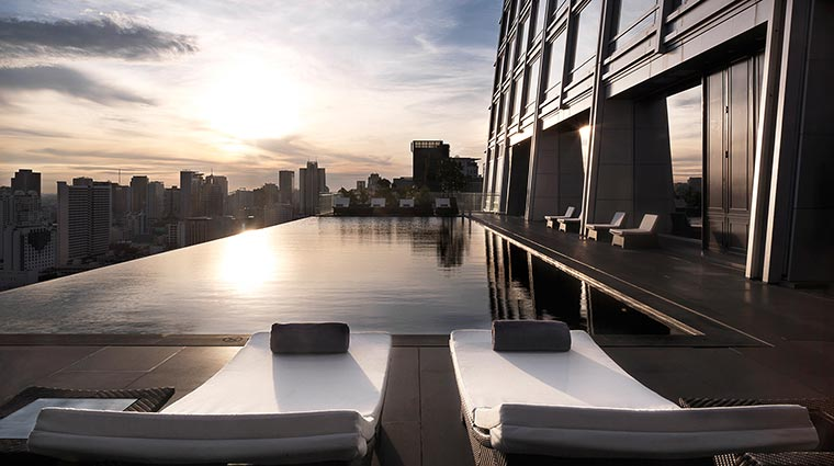 The Okura Prestige Bangkok Hotel Pool