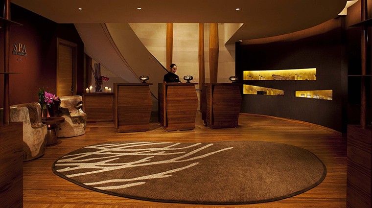 The Peninsula Spa Reception