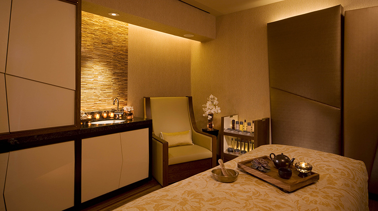 The Peninsula Spa Treatment Room