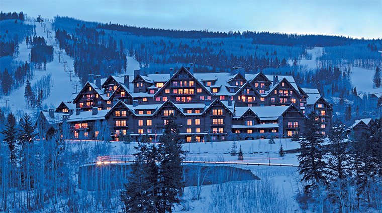The Ritz-Carlton, Bachelor Gulch Winter View