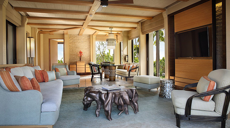 Garden Villa Living Room