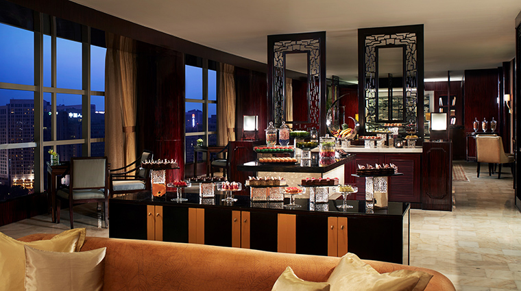 The Ritz Carlton Club Lounge