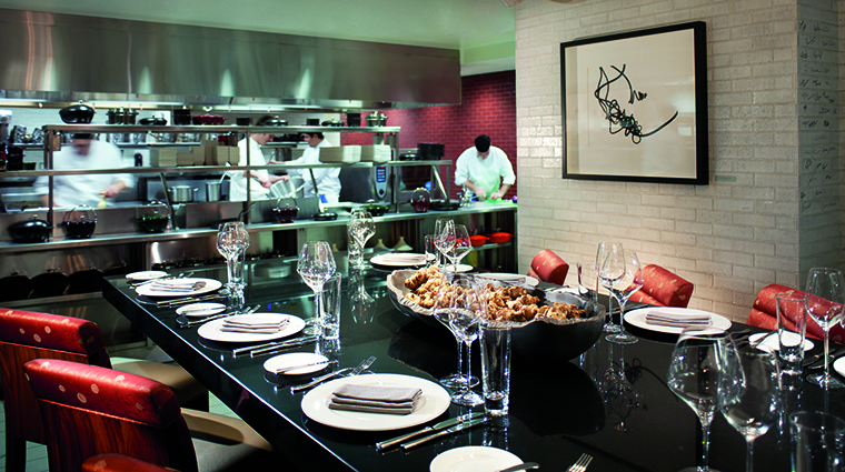 TOCA Restaurant Chef's Table