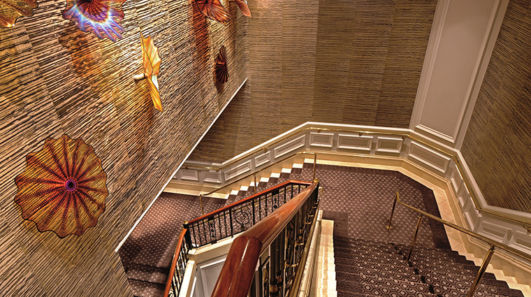 Grand Staircase with Dale Chihulys Installation