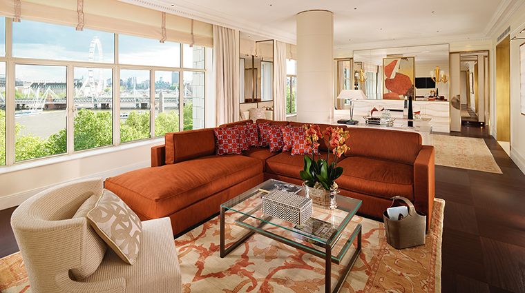 The Savoy Suite Living Room