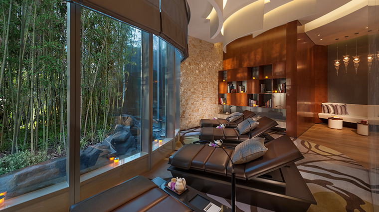 The Spa at Mandarin Oriental Pudong, Shanghai Relaxation Room