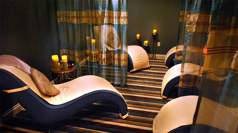 The Spa at Château Élan Relaxation Lounge