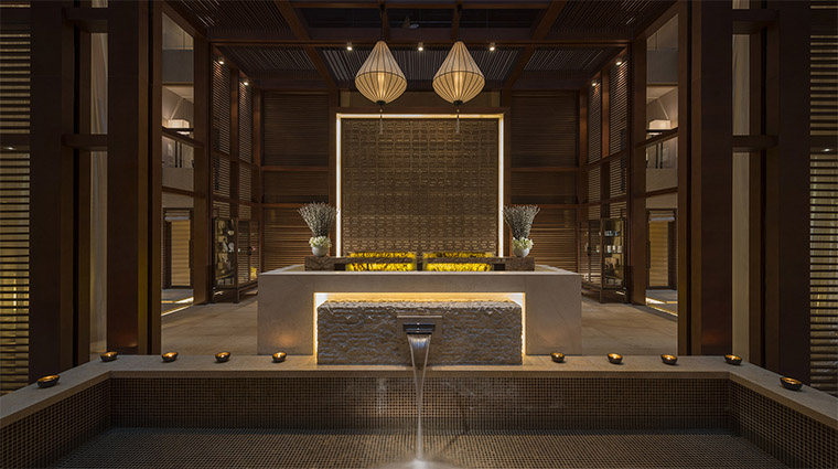 The Spa at Four Seasons Hotel Beijing Spa Reception