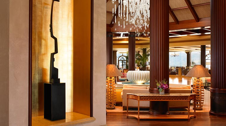 The St. Regis Princeville Resort Lobby