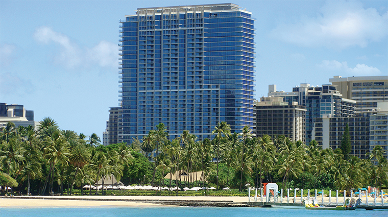 Trump International Hotel Waikiki Beach Walk Overlooking the Pacific Ocean