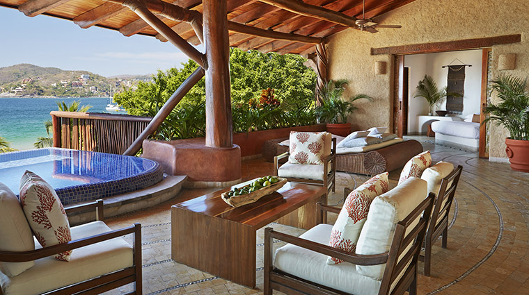Suite Terrace with Plunge Pool