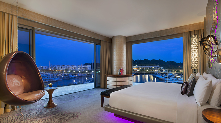 W Singapore, Sentosa Cove, Marvelous Suite with Marina View