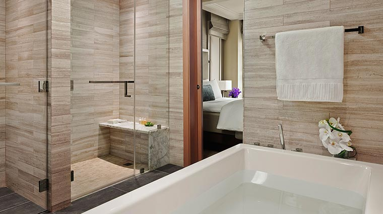 The Quin Premier Suite Bathroom