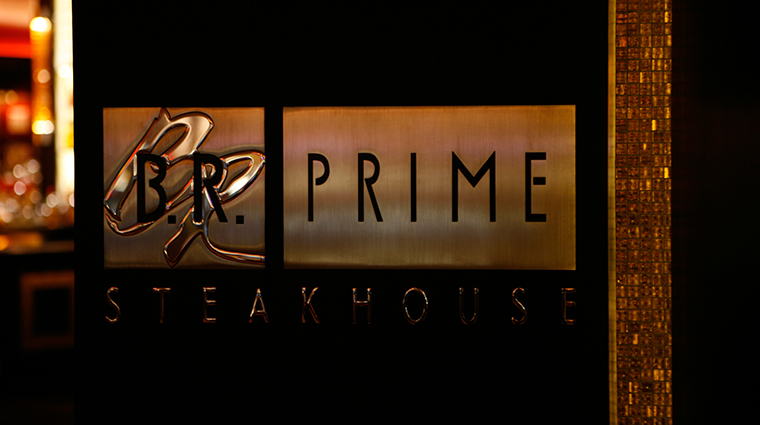 BR Prime Sign at Beau Rivage Resort & Casino
