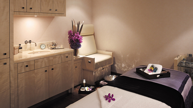The Spa at Beverly Wilshire Treatment Room