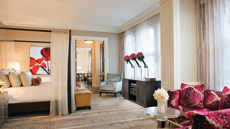 Beverly Wilshire, Beverly Hills (A Four Seasons Hotel) Presidential Suite Master Bedroom