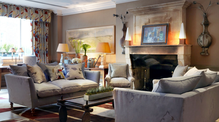 Charlotte Street Hotel, London, Drawing Room