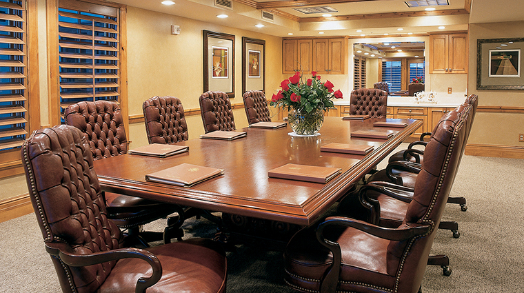 The Chateaux Deer Valley Boardroom