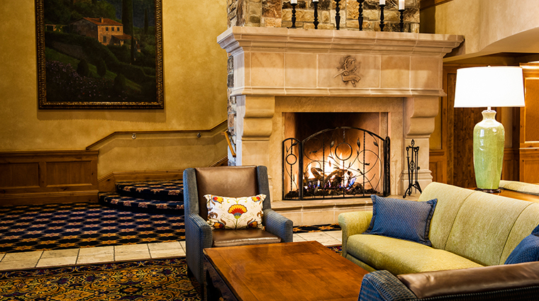 The Chateaux Deer Valley Lobby
