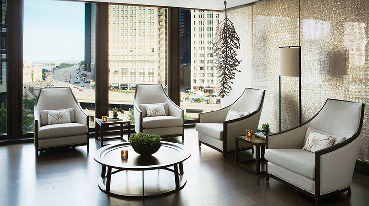 Chuan Spa at The Langham, Chicago Reception