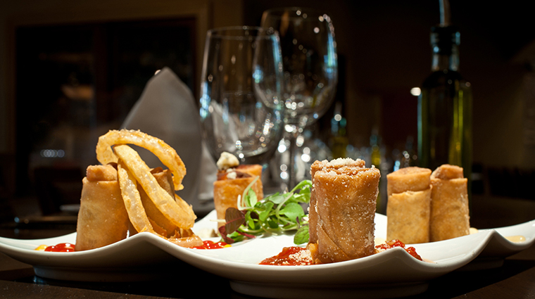 Davio's Atlanta Northern Italian Steakhouse Spring Rolls