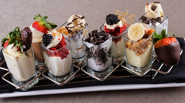 Edge Steakhouse Dessert Platter