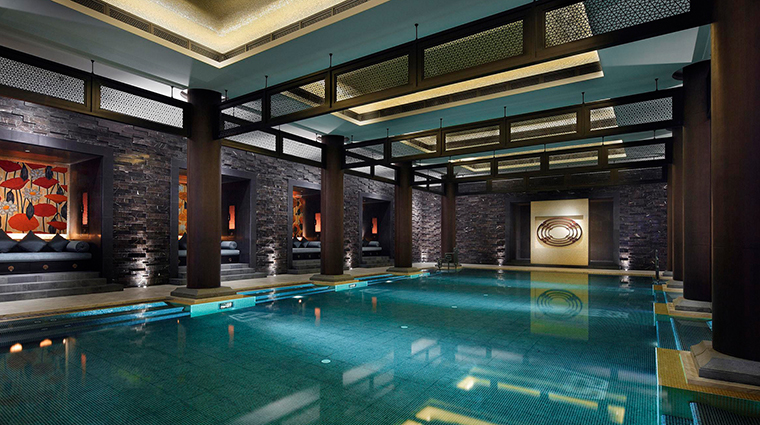The Spa at Four Seasons Hotel Hangzhou at West Lake Indoor Pool Overall