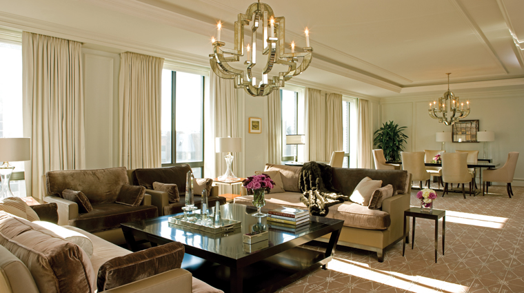 Presidential Suite West Wing Living Room