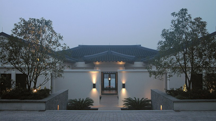 Fuchun Resort Hangzhou Villa Entrance