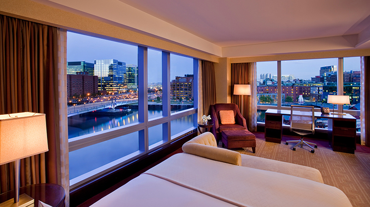 InterContinental Boston Water View Guest Room