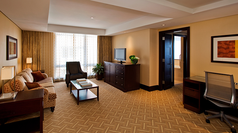 InterContinental Boston Executive Suite Living Room