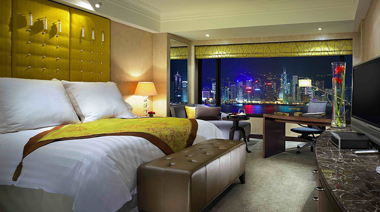 InterContinental Hong Kong Hotel Superior Harbourview Room