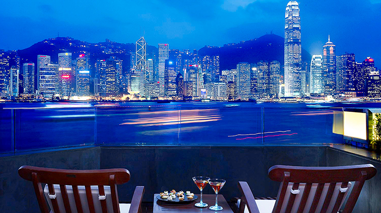 InterContinental Hong Kong Hotel Harbourview Third Floor Patio Suite